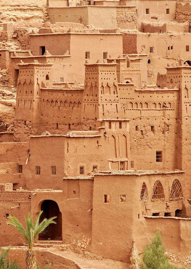 Cetatea fortificată Ai Benhaddou.