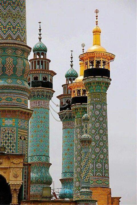 Celebrele minarete din Marrakesh.
