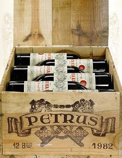 Petrus, unul dintre cele mai scumpe vinuri.