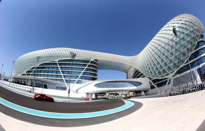 ABU DHABI, UNITED ARAB EMIRATES - OCTOBER 01:  A young driver tackles one of a series of driving tests during the FIA Institute Young Driver Excellence Academy at Yas Marina Circuit on October 1, 2014 in Abu Dhabi, United Arab Emirates.  (Photo by Warren Little/Getty Images for ATCUAE)