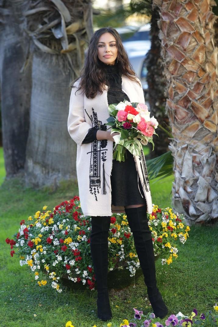 Mădălina, o floare printre flori la San Remo!