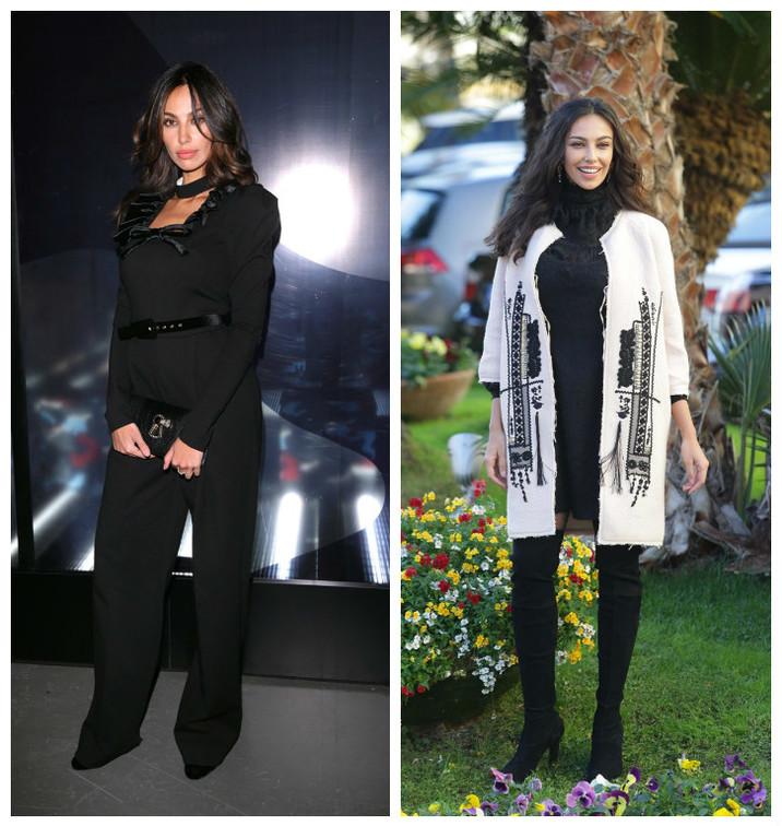 All black sau cu haina etno?