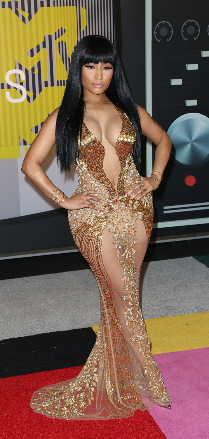 2015 MTV Video Music Awards (VMA's) at the Microsoft Theater - Arrivals Featuring: Nicki Minaj Where: Los Angeles, California, United States When: 30 Aug 2015 Credit: Brian To/WENN.com