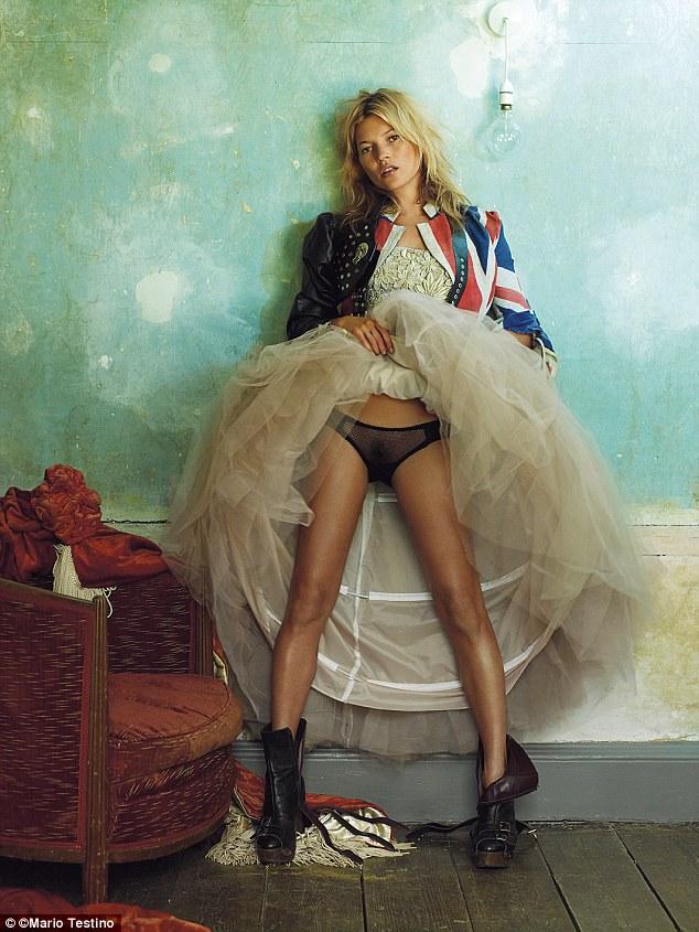 Kate Moss în 2008