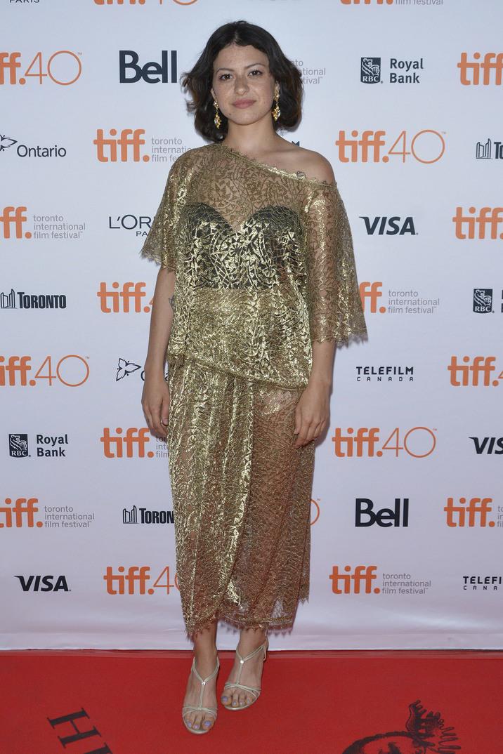 Alia Shawkat e cunoscută pentru rolul din serialul de comedie Arrested Development