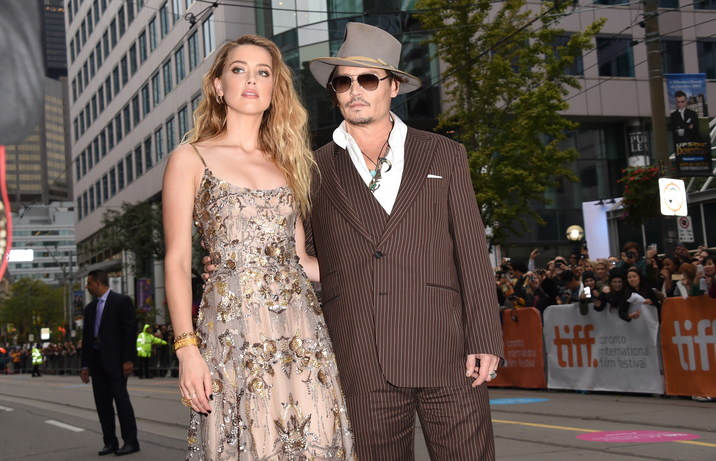 "Cuplul Heard-Depp la ""The Danish Girl"", Toronto"