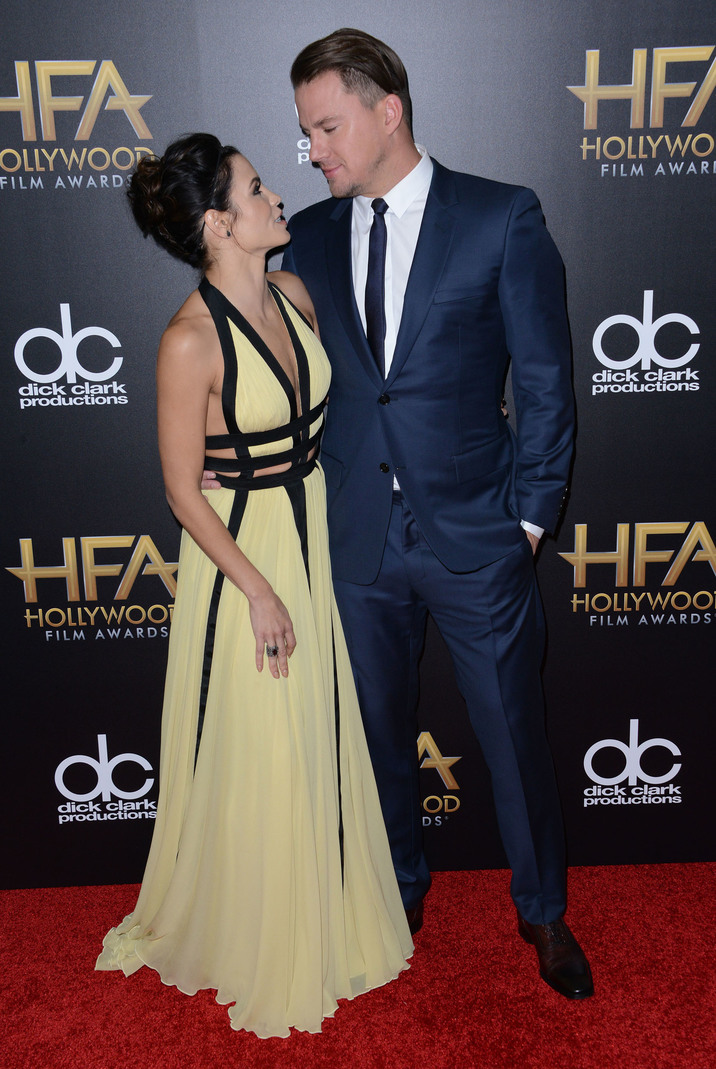 51896311 Celebrities at the 19th Annual Hollywood Film Awards at the Beverly Hilton Hotel in Beverly Hills, California on November 1st, 2015. Celebrities at the 19th Annual Hollywood Film Awards at the Beverly Hilton Hotel in Beverly Hills, California on November 1st, 2015. Pictured: Jenna Dewan, Channing Tatum FameFlynet, Inc - Beverly Hills, CA, USA - +1 (818) 307-4813 RESTRICTIONS APPLY: NO FRANCE