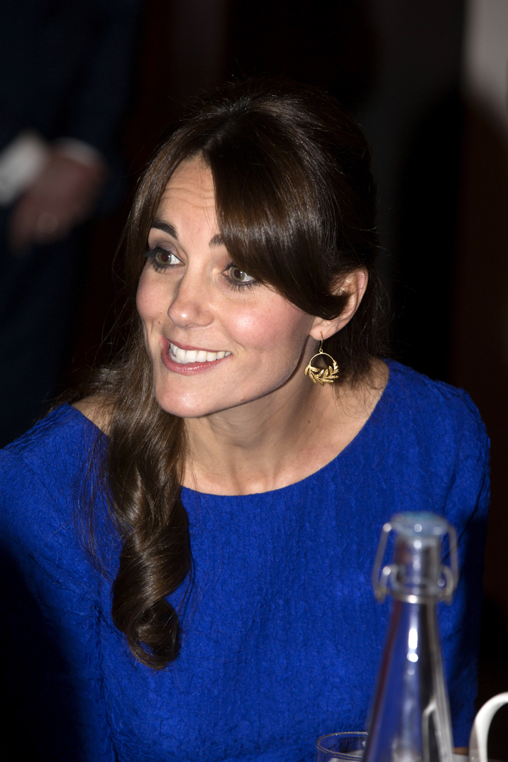 LONDON, ENGLAND - NOVEMBER 17:  Catherine, Duchess of Cambridge attends the Fostering Network's Fostering Excellence Awards at BMA House on November 17, 2015 in London, England. Her Royal Highness will meet all award winners at a special tea party, and present the Fostering Achievement Award to three young people.  (Photo by Ian Vogler - WPA Pool / Getty Images)