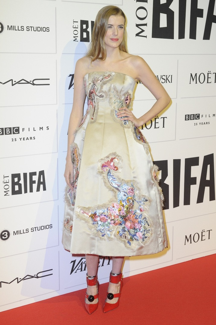 Moet British Independent Film Awards 2015 held at Old Billingsgate Market - Arrivals Featuring: Agyness Deyn Where: London, United Kingdom When: 06 Dec 2015 Credit: Euan Cherry/WENN.com