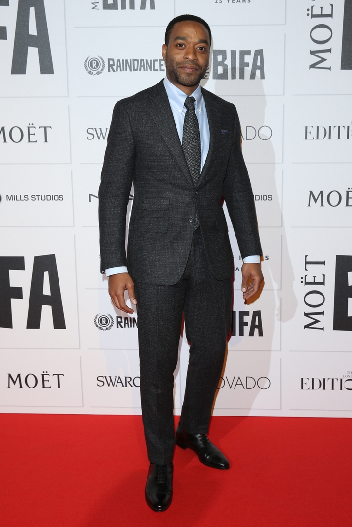 Moet British Independent Film Awards 2015 held at Old Billingsgate Market - Arrivals Featuring: Chiwetel Ejiofor Where: London, United Kingdom When: 06 Dec 2015 Credit: Lia Toby/WENN.com
