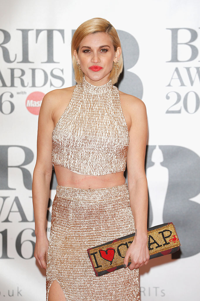 LONDON, ENGLAND - FEBRUARY 24:  Ashley Roberts attends the BRIT Awards 2016 at The O2 Arena on February 24, 2016 in London, England.  (Photo by Luca Teuchmann/Getty Images)