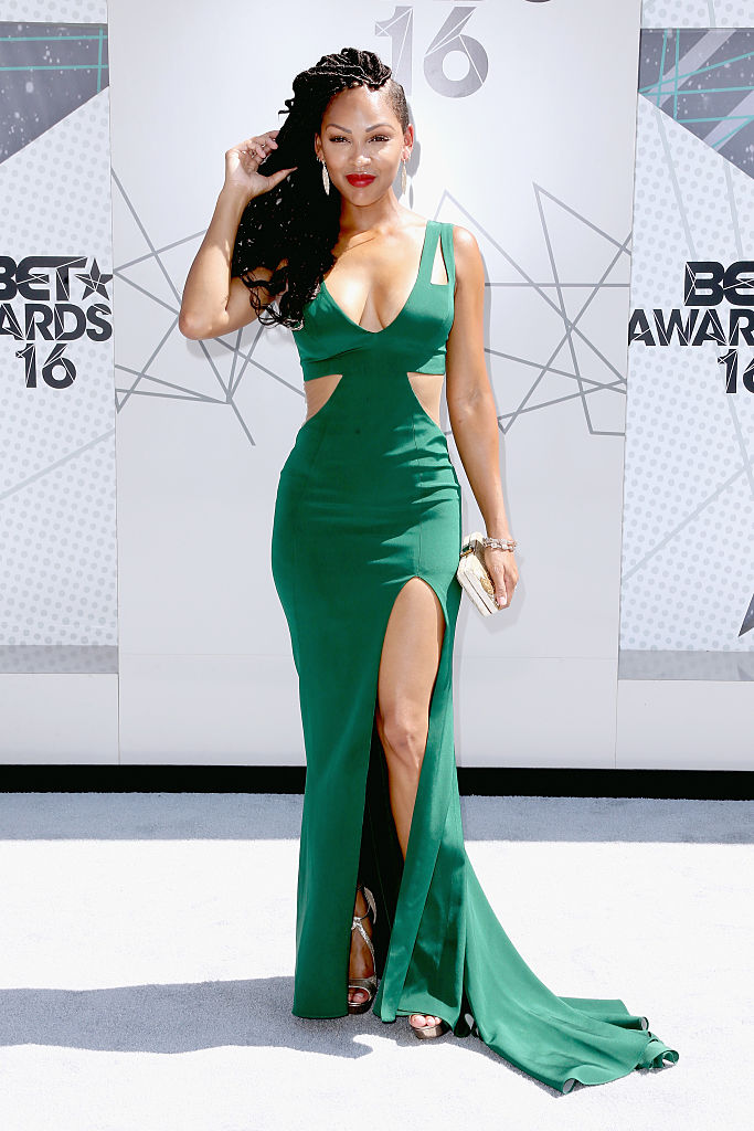LOS ANGELES, CA - JUNE 26:  Actress Meagan Good attends the 2016 BET Awards at the Microsoft Theater on June 26, 2016 in Los Angeles, California.  (Photo by Frederick M. Brown/Getty Images)