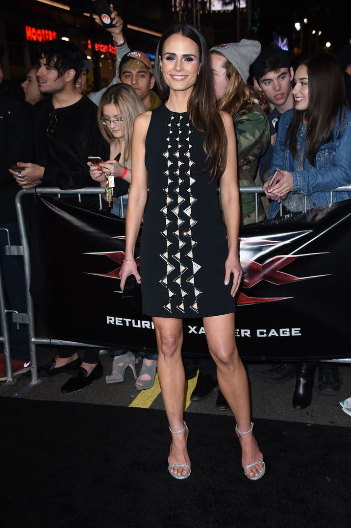 Mandatory Credit: Photo by Jim Smeal/BEI/Shutterstock (7903580bq) Jordana Brewster 'xXx: The Return of Xander Cage' film premiere, Los Angeles, USA - 19 Jan 2017