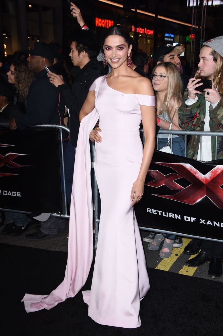 Mandatory Credit: Photo by Jim Smeal/BEI/Shutterstock (7903580bf) Deepika Padukone 'xXx: The Return of Xander Cage' film premiere, Los Angeles, USA - 19 Jan 2017