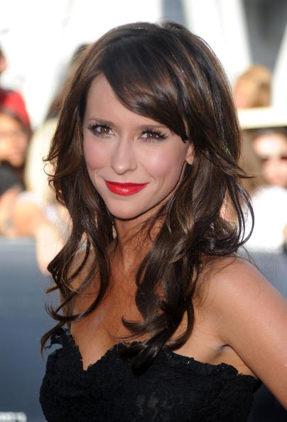 "Jennifer Love Hewitt arrives to the premiere of Summit Entertainment's ""The Twilight Saga: Eclipse"" during the 2010 Los Angeles Film Festival at Nokia Theatre L.A. Live on June 24, 2010 in Los Angeles, California.  (Photo by Frazer Harrison/Getty Images)"