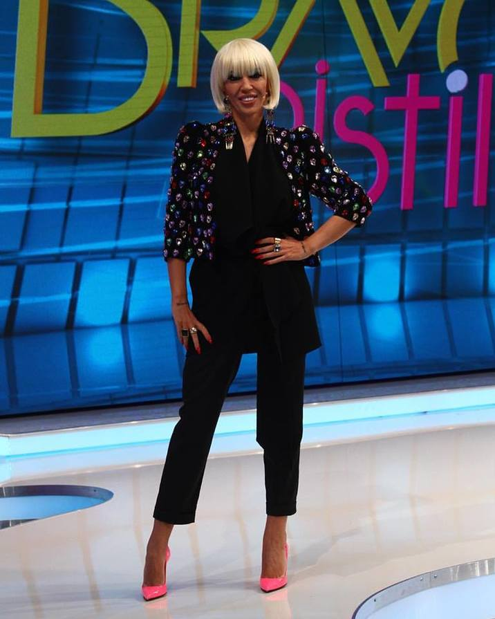 Raluca Badulescu look nou