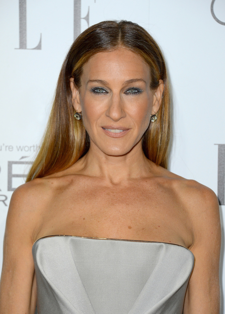 BEVERLY HILLS, CA - OCTOBER 15:  Actress Sarah Jessica Parker arrives at ELLE's 19th Annual Women In Hollywood Celebration at the Four Seasons Hotel on October 15, 2012 in Beverly Hills, California.  (Photo by Frazer Harrison/Getty Images)