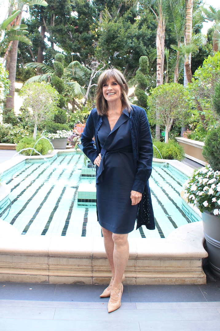 "Linda Gray ""Dallas"" TV Series Portrait Session, August 7, 2013. Reproduction by American tabloids is absolutely forbidden."