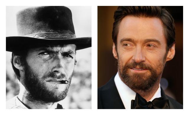 Hugh e mândru de asemănarea cu Clint