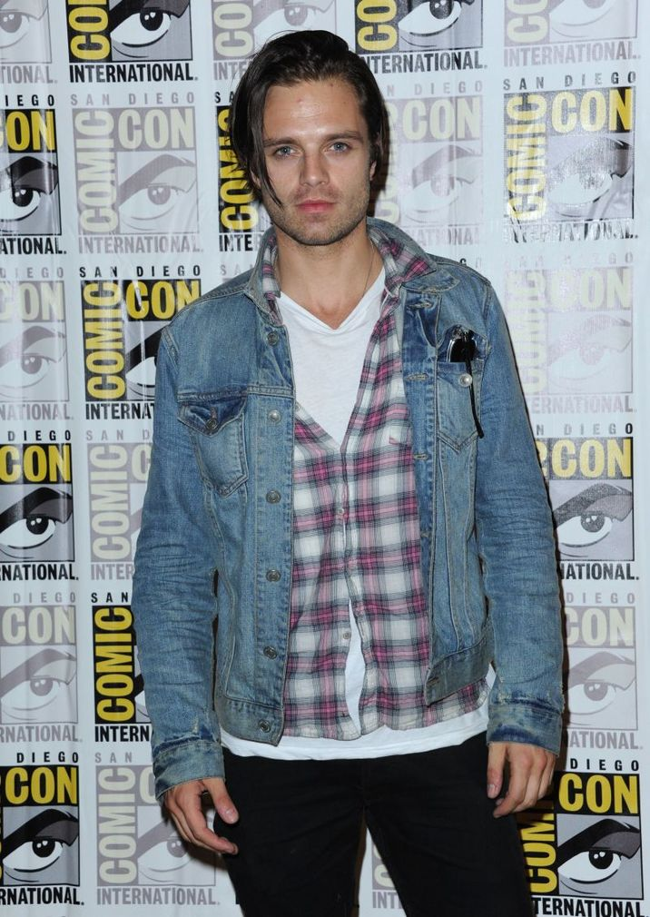SEBASTIAN STAN @ the 2013 Comic Con MARVEL press line held @ the Convention Center. July 20, 2013