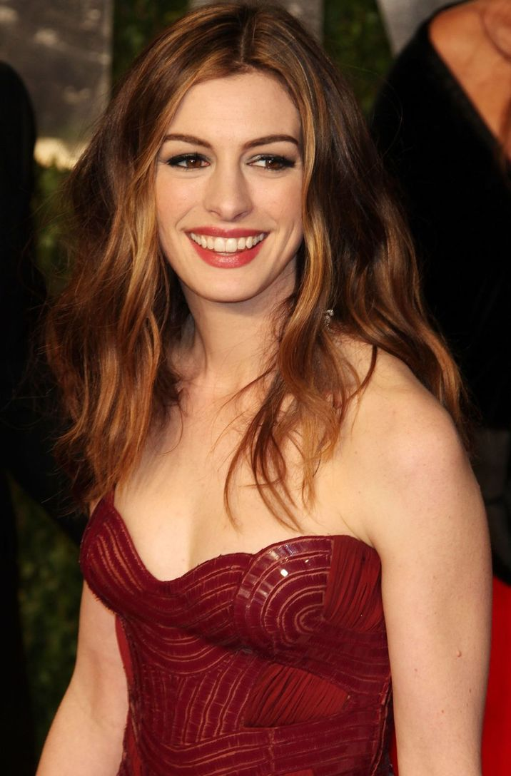 Anne Hathaway 2011 Vanity Fair Oscar Party at Sunset Tower Hotel - Arrivals West Hollywood, California - 27.02.11 Featuring: Anne Hathaway Where: USA When: 27 Feb 2011 Credit: WENN