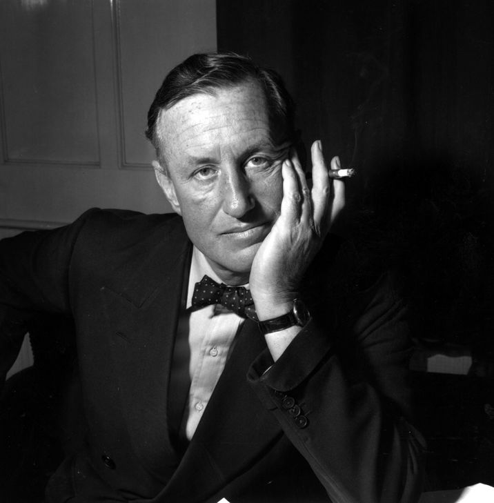 Ian Lancaster Fleming (1908 - 1964), British author and creator of the  James Bond character.   (Photo by Express Newspapers/Getty Images)