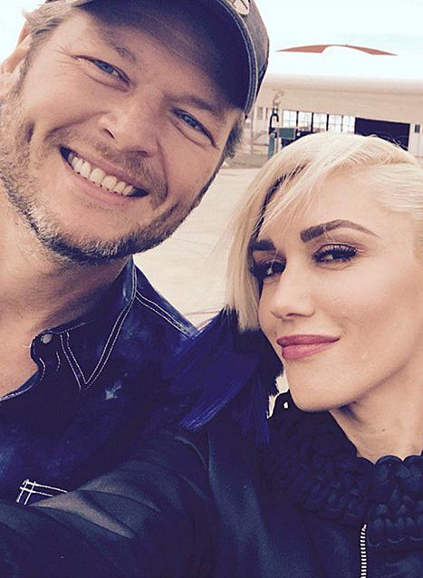 Blake Shelton şi Gwen Stefani