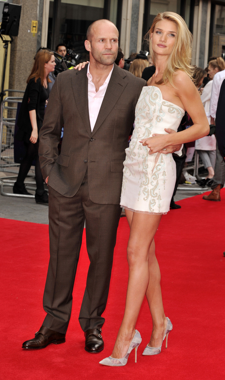 The UK film premiere of Hummingbird at Odeon West End, Leicester Square Featuring: Jason Statham,Rosie Huntington-Whiteley Where: London, United Kingdom When: 17 Jun 2013 Credit: WENN.com
