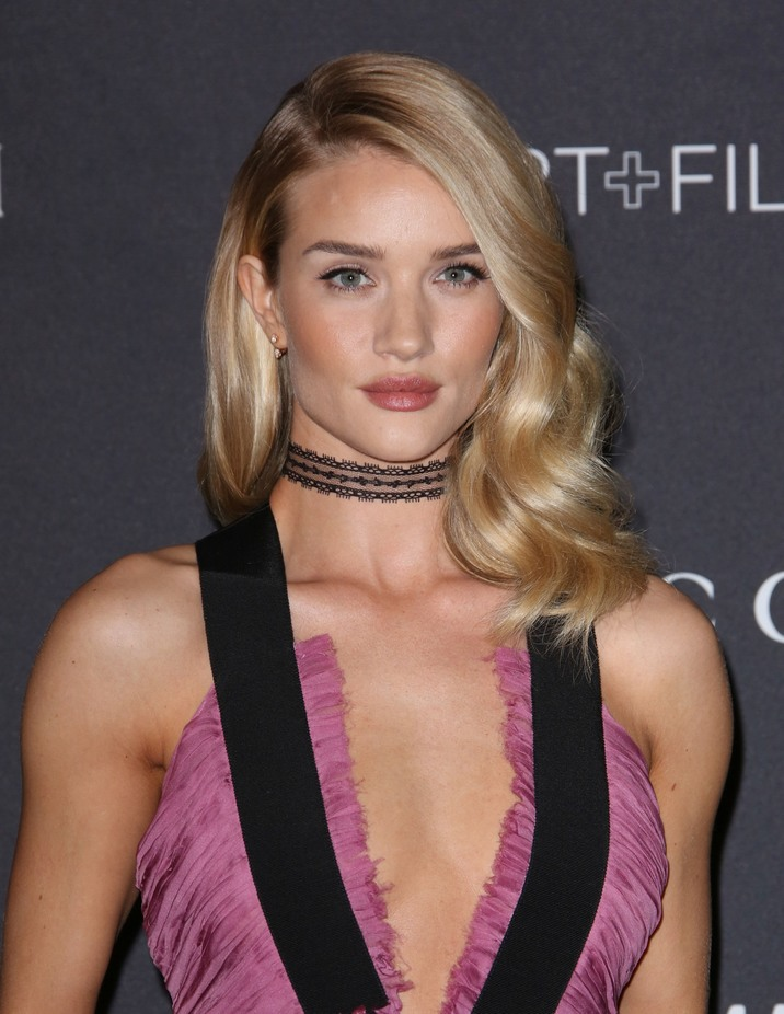 Mandatory Credit: Photo by Matt Baron (5355627gd) Rosie Huntington Whiteley LACMA Art and Film Gala, Los Angeles, America - 07 Nov 2015