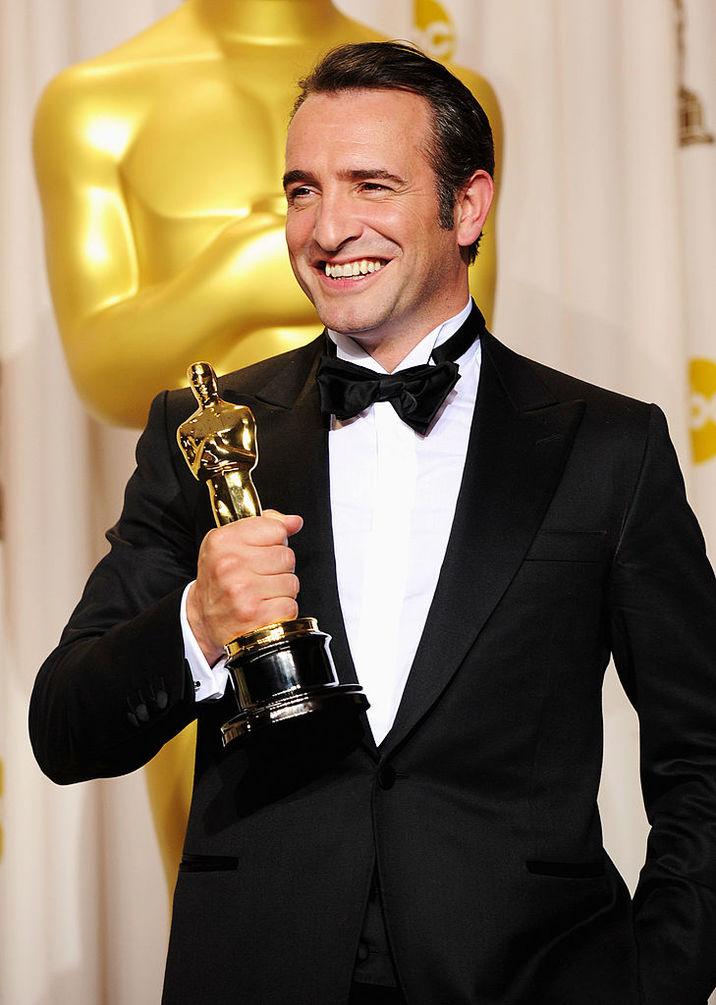 """Actorul a luat Oscarul pentru cel mai bun actor pentru rolul mut din """"Artistul"""", în 2011"""