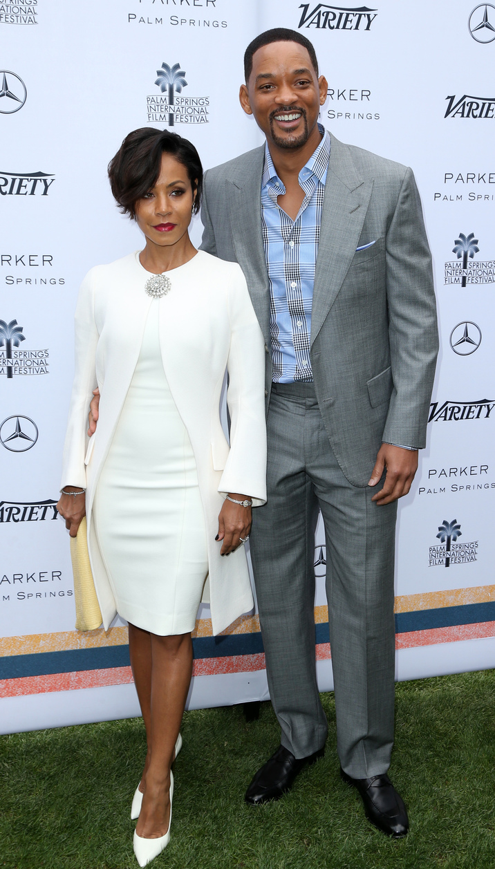 Variety's Creative Impact Awards And 10 Directors To Watch Brunch At The 27th Annual Palm Springs International Film Festival Featuring: Jada Pinkett Smith, Will Smith Where: Palm Springs, California, United States When: 03 Jan 2016 Credit: FayesVision/WENN.com