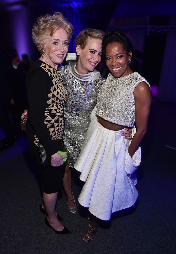 Împreună cu Regina King, la gala Critics Choice