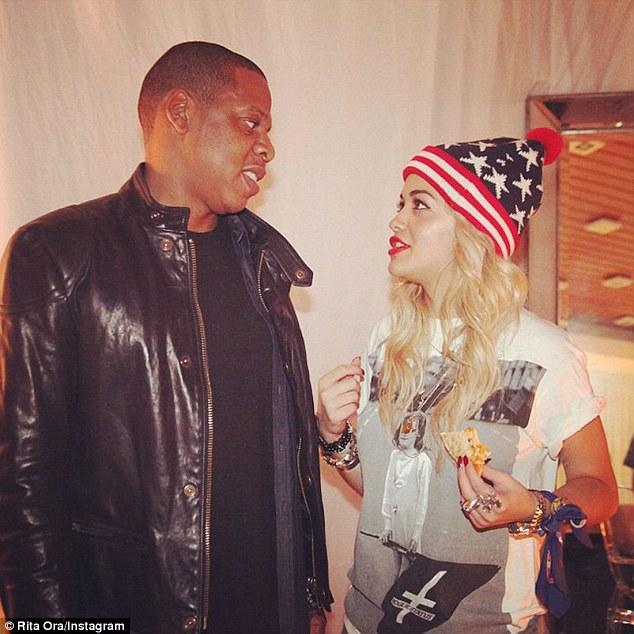 Rita şi Jay Z au fost, cândva, prieteni