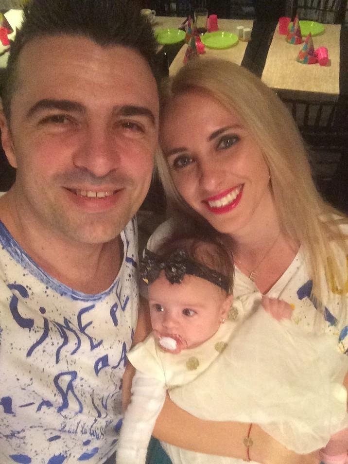 Cornel Ilie si Eliza botez Zara