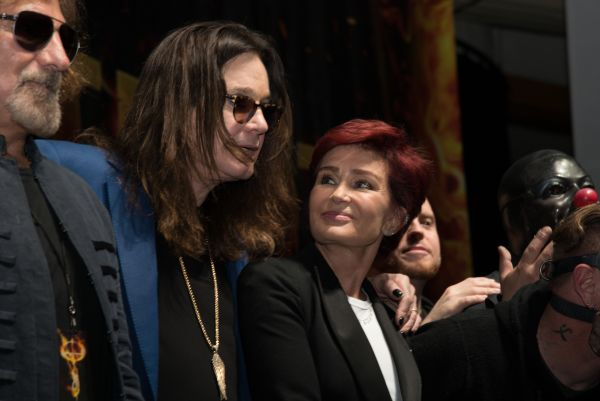 Ozzy Osbourne and Corey Taylor special announcement press conference for Ozzfest Meets Knotfest on May 12, 2016 at the Hollywood Palladium in Los Angeles, California. Featuring: Ozzy Osbourne, Sharon Osbourne Where: Los Angeles, California, United States When: 13 May 2016 Credit: Charlie Steffens/WENN.com