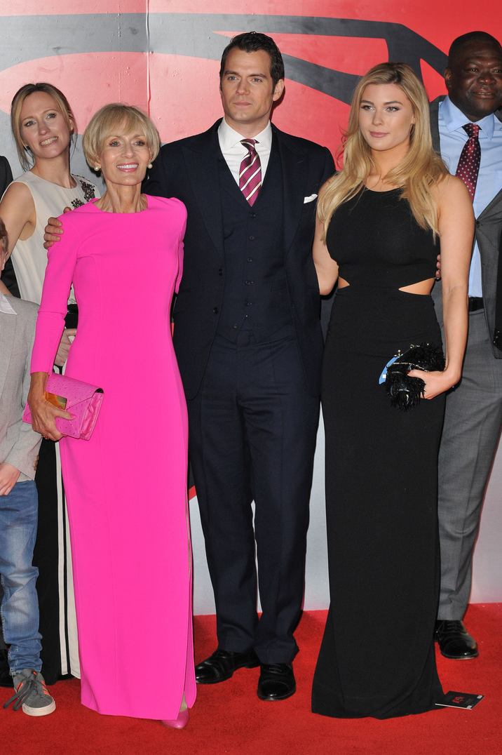 """Marianne Cavill, Henry Cavill & Tara King attend the """"Batman V Superman: Dawn of Justice"""" European film premiere, Odeon Leicester Square cinema, Leicester Square, London, UK, on Tuesday 22 March 2016. CAP/CAN ©Can Nguyen/Capital Pictures"""