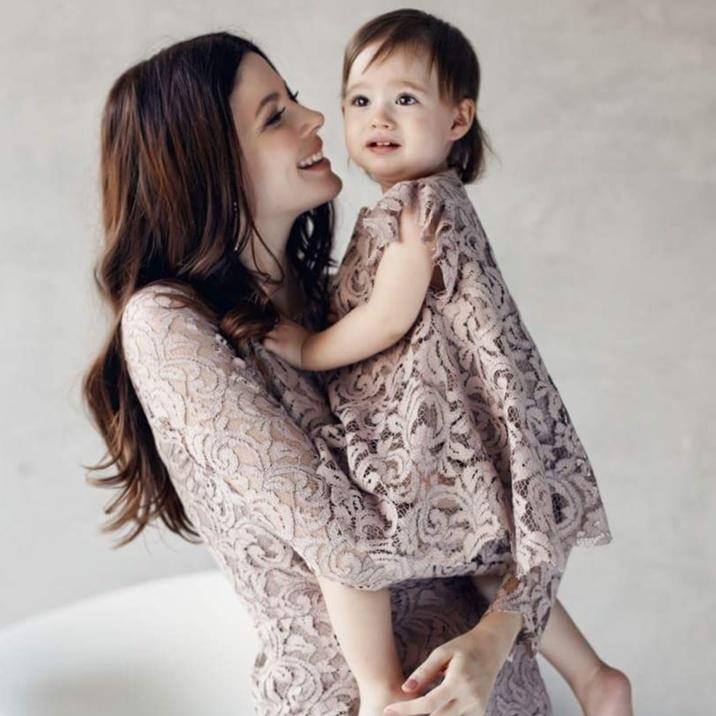 Anca Lungu fiica Natalia