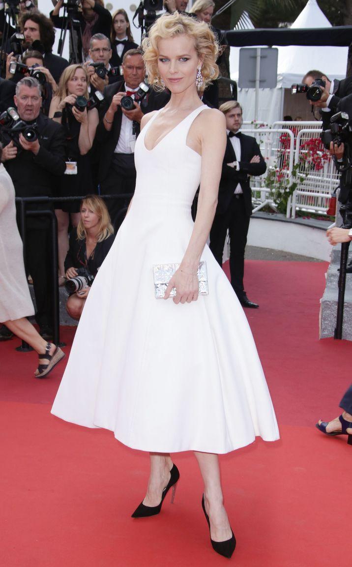 Mandatory Credit: Photo by Matt Baron/BEI/Shutterstock (5689214dc) Eva Herzigova 'The Unknown Girl' premiere, 69th Cannes Film Festival, France - 18 May 2016