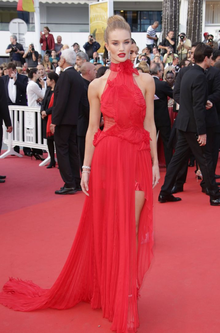 Mandatory Credit: Photo by Matt Baron/BEI/Shutterstock (5689214ds) Rosie Huntington-Whiteley 'The Unknown Girl' premiere, 69th Cannes Film Festival, France - 18 May 2016