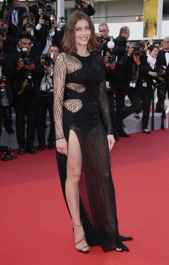 Mandatory Credit: Photo by Matt Baron/BEI/Shutterstock (5689214ff) Laetitia Casta 'The Unknown Girl' premiere, 69th Cannes Film Festival, France - 18 May 2016