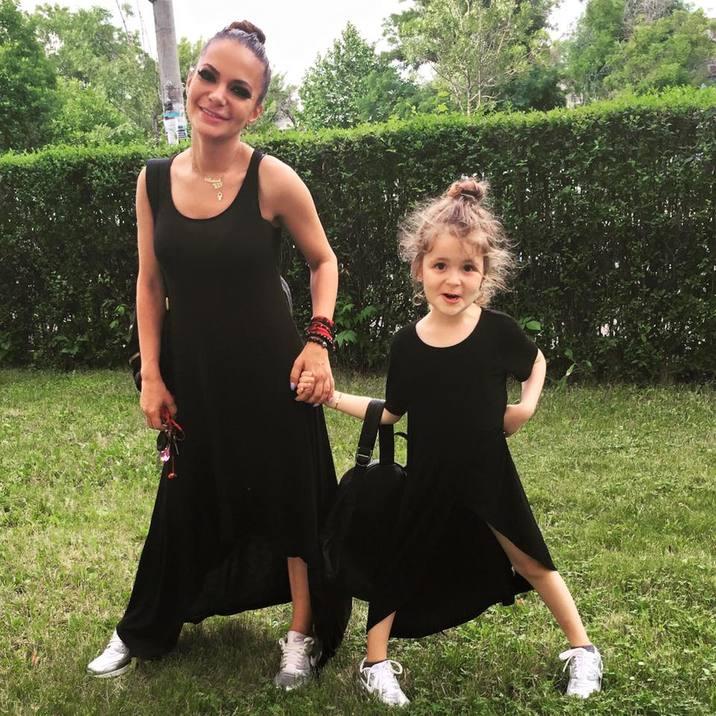 Andreea Antonescu fiica ei Sienna