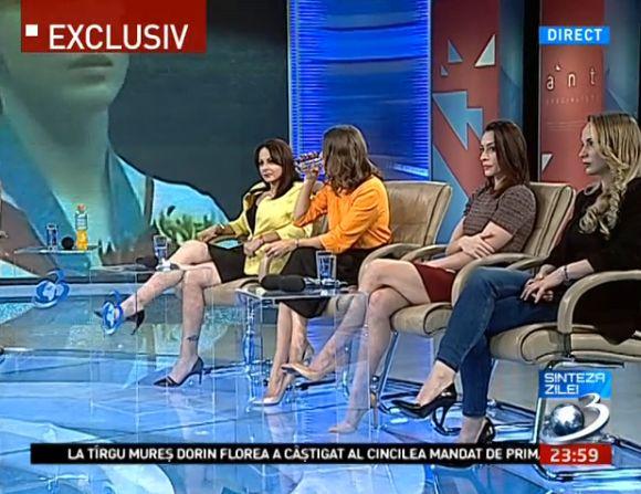 Corina Ungureanu, Monica Rosu, Catalina Ponor, Sandra Izbasa 2