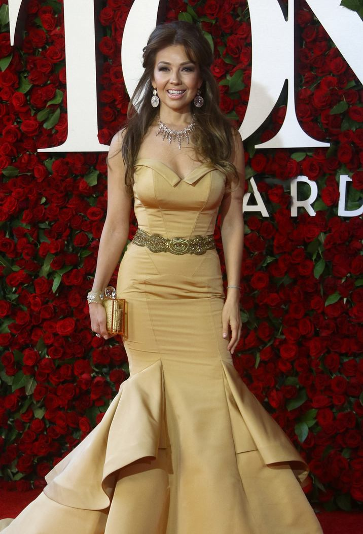 52090477 Celebrities attend the 70th Annual Tony Awards at The Beacon Theatre on June 12, 2016 in New York City. Celebrities attend the 70th Annual Tony Awards at The Beacon Theatre on June 12, 2016 in New York City. Pictured: Thalia FameFlynet, Inc - Beverly Hills, CA, USA - +1 (310) 505-9876
