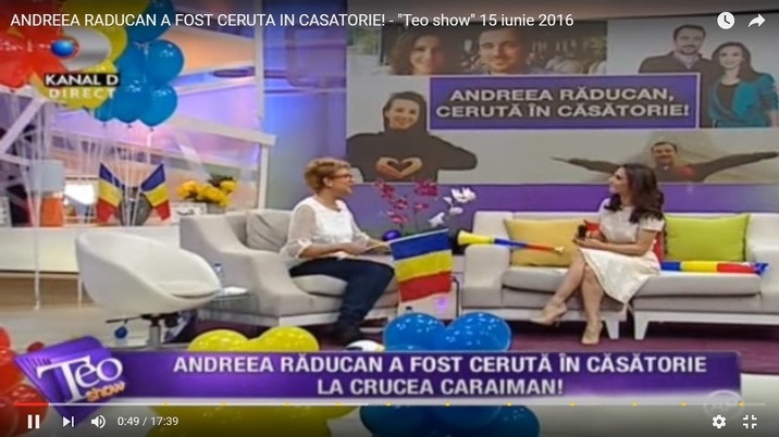 Andreea Raducan Teo Show3