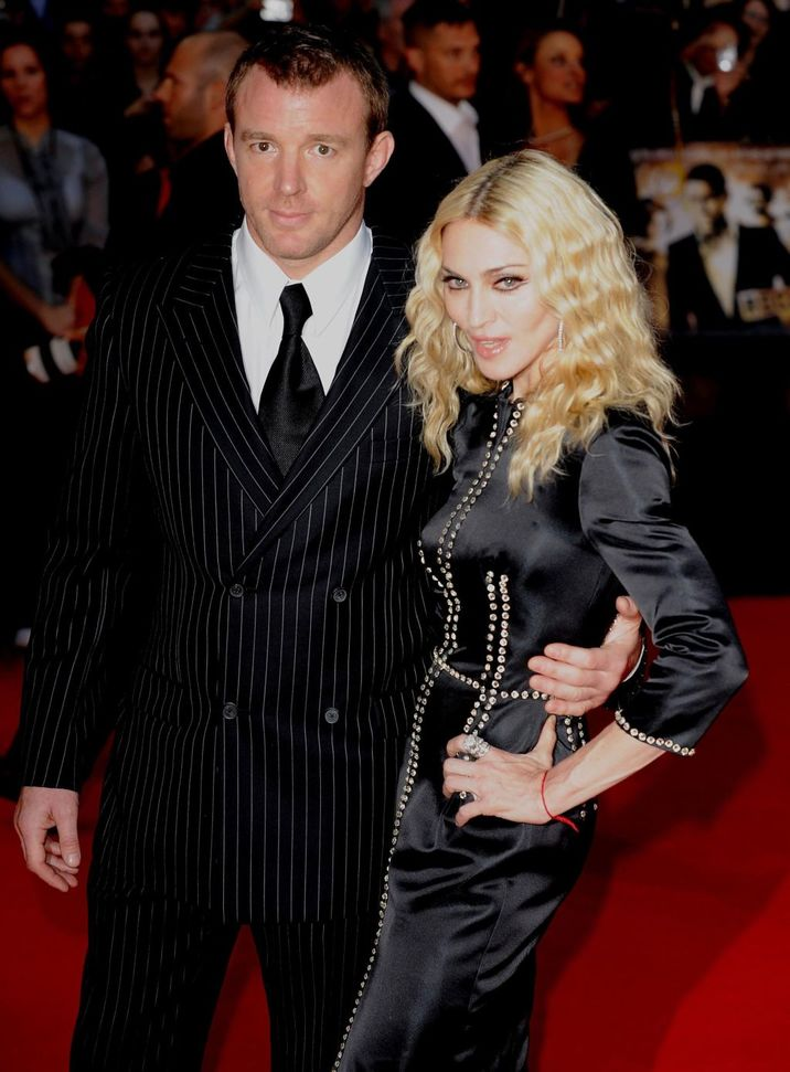 Madonna and Guy Ritchie 'Rocknrolla' World Premiere held at the Odeon West End - Arrivals London, England - 01.09.08 Featuring: Madonna and Guy Ritchie Where: London, United Kingdom When: 01 Sep 2008 Credit: WENN