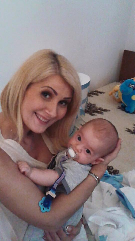 Alessandra Stoicescu copil