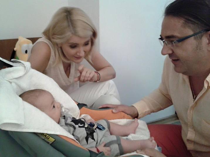 Alessandra Stoicescu Sergiu Constantinescu copil