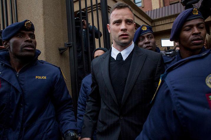 Oscar Pistorius, acum câteva luni