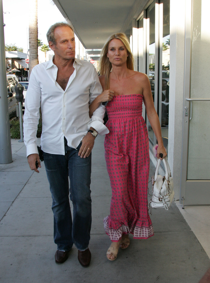 Nicollette Sheridan and Michael Bolton were seen eating lunch together. They were spotted in Beverly Hills at the Bastil. They conversation either seemed serious or nothing really important. At one point Bolton was playing with his phone and Sheridan was playing with her hair. CR: Fame Pictures 09/07/2007 --- Nicollette Sheridan, Michael Bolton --- (C) 2007 Fame Pictures, Inc. - Santa Monica, CA, U.S.A - 310-395-0500 / Sales: 310-395-0500