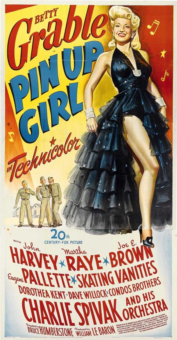 """Filmul ei emblematic, """"Pin Up Girl"""", din 1944, a avut încasări extraordinare pentru acea vreme, de 2 milioane de dolari."""